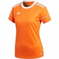 Tricou Adidas Squadra 17 Jersey W portocaliu BJ9206