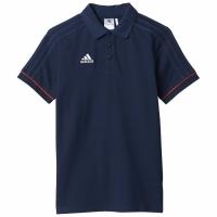 Tricou poloadidas TIRO 17 bumbac bleumarin BQ2699 copii adidas teamwear