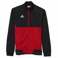 Bluza trening adidas Tiro 17 Pes negru-rosu BQ2609 copii teamwear adidas teamwear