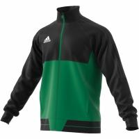 Bluza trening adidas Tiro 17 Pes negru-verde BQ2599 barbati