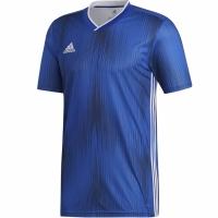 Tricou Adidas Tiro 19 Jersey albastru DP3532 barbati teamwear adidas teamwear
