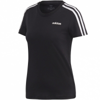 Tricou Adidas W Essentials 3Stripes Slim Tee negru DP2362 femei
