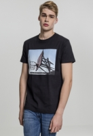 Tricou All Day Every Day negru Mister Tee