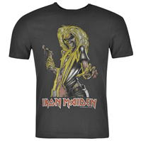 Tricou Amplified Clothing Iron Maiden pentru Barbati