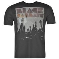 Tricou Amplified Clothing negru Sabbath pentru Barbati