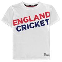 Tricou Anglia Cricket Cricket imprimeu Graphic cu guler rotund pentru baieti