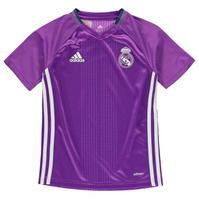 Tricou antrenement adidas Real Madrid pentru copii