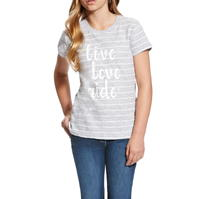 Tricou Ariat Slogan pentru fete