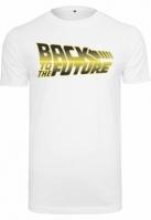 Tricou Back To The Future Car Logo alb Merchcode