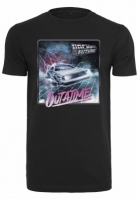 Tricou Back To The Future Outatime negru Merchcode