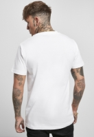 Tricou Bad Stand Up baiat alb Mister Tee