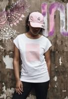 Tricou Badass Princess pentru Femei alb Mister Tee
