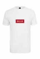 Tricou Ballin Box alb Mister Tee