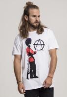 Tricou Banksy Anarchy alb Merchcode