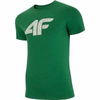 Tricou barbati 4F H4L19 TSM020 41M verde Melange pentru femei