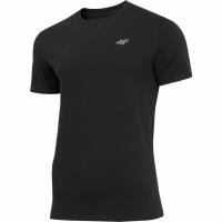 Tricou barbati 4F negru intens H4Z19 TSM070 20S pentru femei