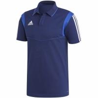Tricou barbati Adidas Tiro 19 bumbac Polo bleumarin DU0868 teamwear adidas teamwear