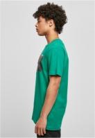 Tricou barbati casual Pray verde-verde Mister Tee