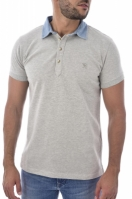 Tricou barbati Fri OOS143 Polo Grey Diesel