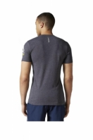 Tricou barbati Obstacle Grey Reebok