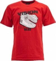 Tricou barbati Sneaker Tee Red Vision Street Wear