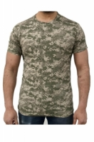 Tricou barbati SS Tshirt Digital Desert Green Game