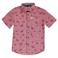 Ben Sherman 03T cu Maneca Scurta Shirt pentru baietei