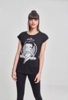 Tricou Betty Boop The clasic pentru Femei negru Merchcode