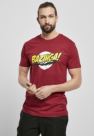 Mergi la Tricou Big Bang Theory Bazinga rosu burgundy Merchcode