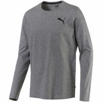 Bluza maneca lunga barbati Puma Essentials No1 Logo gri 851772 23