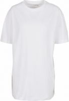 Tricou Boyfriend supradimensionat pentru Femei alb