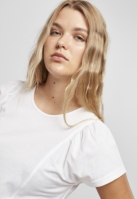 Tricou bumbac organic pentru Femei alb Urban Classics