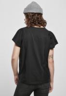 Tricou bumbac organic pentru Femei negru Urban Classics