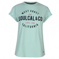 Tricou cu imprimeu SoulCal pentru Femei