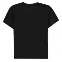 Tricou Calvin Klein Monogram pentru copii negru