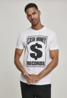 Tricou Cash Money Records alb Mister Tee