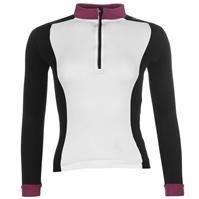 Tricou ciclism Muddyfox Pure cu Maneca Lunga pentru Femei