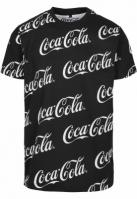 Tricou Coca Cola AOP negru Merchcode