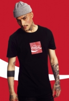 Tricou Coca Cola Taste The Feeling negru Merchcode