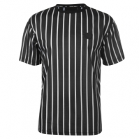 Tricou Criminal Damage Criminal Pinstripe
