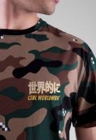Tricou CSBL Abunai clip-camuflaj Cayler and Sons alb