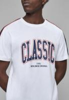 Tricou CSBL Worldwide clasic alb-bleumarin Cayler and Sons