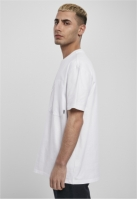 Tricou cu buzunar supradimensionat Big alb Urban Classics