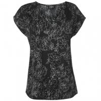 Tricou cu decolteu in V NVME Renee pentru Femei