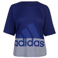 Tricou cu imprimeu adidas pentru Femei