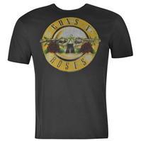 Tricou cu imprimeu Amplified Clothing Guns N Roses pentru Barbati