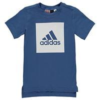 Tricou cu imprimeu adidas Box pentru baietei