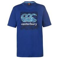 Tricou cu imprimeu Canterbury Vapo CCC pentru Barbati