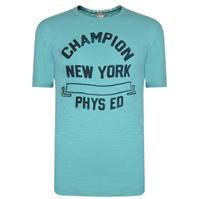 Tricou cu imprimeu Champion