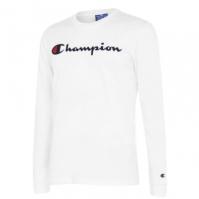 Tricou cu imprimeu Champion Chest alb ww001